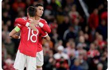 Man United Menang Berkat Ronaldo, Ini yang Dilakukan Bruno Fernandes saat Setan Merah Cari Gol Kemenangan