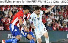 Lionel Messi Hukum Bek yang Repotkan Barcelona di Liga Spanyol hingga Dikeluarkan Saat Lawan Argentina