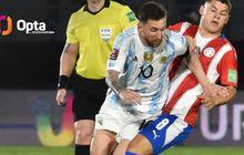 Lionel Messi Tunjukkan Cara Jadi Bek Terbaik Lewat Aksi Menit 27 di Timnas Argentina