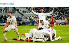 Prancis Belum Kalah pada 7 Laga Terakhir UEFA Nations League