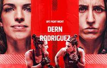 Hasil Lengkap UFC Vegas 39 - Ratu Kuncian Tidak Mempan, Mackenzie Dern Kalah dari Marina Rodriguez