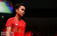 Hasil Thomas Cup 2020 - Anthony Kalahkan Juara Indonesia Open, Indonesia Unggul 1-0 atas Taiwan