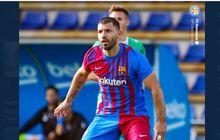 Sergio Aguero Langsung Cetak Gol dalam Debut di Barcelona, Diakah Mesias Sebenarnya setelah Lionel Messi?