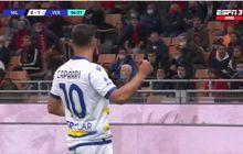 Bek Amburadul, AC Milan Dibobol Verona 2 Gol akibat Tembakan Voli dan Penalti Diganggu Laser