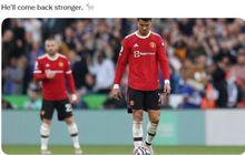 Dalam Kondisi Bete, Ronaldo Dipaksa Lakukan Hal Ini oleh Solskjaer