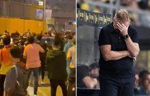 Kalah dari Real Madrid, Ronald Koeman Diserbu Ratusan Suporter Saat Pulang dari Camp Nou