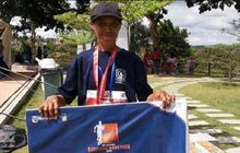 Kisah Menarik Penjual Jagung yang Sukses Juarai Batam Barelang Marathon 2018