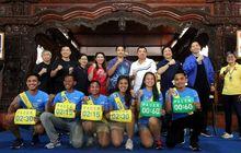 Susy Susanti, Hariyanto Arbi, dan Liem Swie King Ramaikan Tiket.com Kudus Relay Marathon 2018