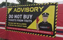 Di GP Singapura, Jangan Beli Tiket dari Calo!