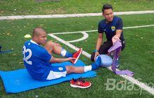 Cedera Panjang Sejak Tahun Lalu, Ini Kondisi Terbaru Striker Persib Bandung Tantan