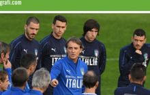 Italia Vs Portugal - Target Roberto Mancini adalah Lolos ke Putaran Final UEFA Nations League