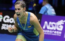 China Open 2019 - Melaju ke Final, Carolina Marin Sempat Emosional