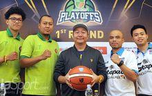 Saling Jegal Stapac Jakarta Kontra Pacific Cesar pada Play-off IBL 2017-2018