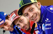 Andrea Dovizioso Bersyukur Masih Bisa Berduel dengan Valentino Rossi