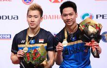 Malaysia Masters 2019 - Detik-detik Kevin Sanjaya Keluarkan Skill Tingkat 'Dewa'