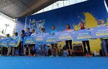 Kota Kretek Sukses Gelar Lomba Lari Tiket.com Kudus Relay Marathon 2018