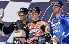 Marc Marquez Raih Kemenangan Kedua Beruntun di MotoGP 2018