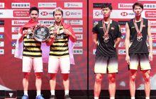 BWF World Tour Finals 2018 - Kalah dari Li/Liu, Nasib Marcus/Kevin Belum Aman