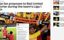 Sejoli Romantis dalam Laga Persija Jakarta Kontra Bali United Turut Diberitakan Media Luar