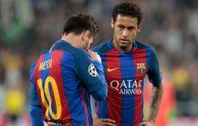 Neymar Pilih Messi Ketimbang Ballon d'Or