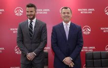 David Beckham Rilis Klub Miliknya di Liga Amerika Serikat, Namanya Mirip Klub Italia