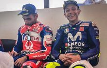 Pertanyaan Valentino Rossi Berujung Tantangan Dari Danilo Petrucci