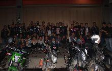 Ngeri Banget, Sekitar 27 Komunitas Motor Mendadak Serbu Kota Bandung