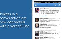 Lihat Garis Biru Ini Buat Mengikuti Obrolan di Twitter for iOS Terbaru