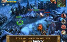 Update Heroes of Order & Chaos, Mendukung Streaming Game Twitch