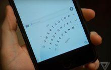 (Foto) Microsoft Word Flow Keyboard Punya Fitur Mengetik Satu Tangan