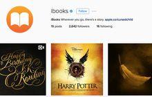 Apple Menghadirkan Akun iBooks di Instagram