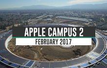 (Video) Pembangunan Apple Campus 2 Jelang Awal Februari 2017