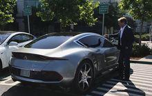 Desainer Mobil Ternama Ini Pamer Mobil Listrik di Markas Besar Apple