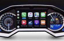 Honda Gold Wing 2018, Motor Pertama yang Dilengkapi Sistem CarPlay