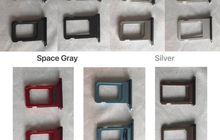 (Foto) Sim Tray iPhone 6.1 inci LCD Dengan 5 Warna