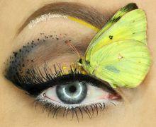 Unik! Gunakan Serangga untuk Kreasi Makeup, Moms Berani Coba?