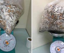 Cuma di Tempat Ini Puntung Rokok Bisa Dijual dengan Harga Rp79 Ribu per Kilo, Kok Bisa?