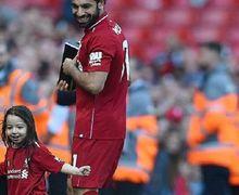 Mohamed Salah Kembali Pamerkan Keahlian Putrinya Selain Cetak Gol