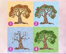 Pilih Salah 1 Dari 4 Gambar Pohon Ini dan Ungkap Rahasia dan Kepribadianmu