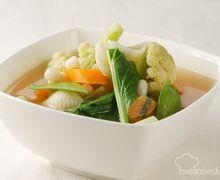 Cuma 30 Menit, Mari Siapkan Sup Makaroni Hidangan Sahur Sarat Gizi Ini