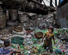 Ngeri! 6 Foto Ini Buktikan Bumi Kita Penuh dengan Sampah Plastik