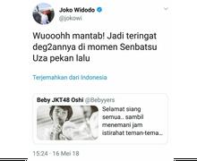 5 Meme Salah Tweet Pak Jokowi Tentang JKT48 yang Harus Kamu Lihat