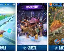 Seru! Mirip Pokemon Go, Coba Game Tangkap Dinosaurus Ini, yuk!