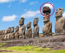 Lama Jadi Perdebatan, Misteri 'Penutup Kepala' pada Patung Pulau Paskah Mulai Terungkap