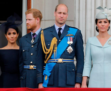 Ada Perbedaan Bahasa Tubuh Antara Meghan-Harry dan Kate-William