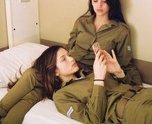Saking Cantiknya Tentara Wanita Israel Dilarang Berbaju Putih, Ini Foto-fotonya!