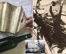 Lewat Surat Dalam Botol Berusia 94 Tahun, Kisah Luar Biasa dari Pemburu Harta Karun Bajak Laut Terungkap