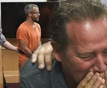 Menantunya Bunuh Anak dan 3 Cucunya, Mertua Ini Menangis di Pengadilan