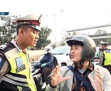 Video Pengendara Mau Lihat Surat Tugas Razia Viral, Polisi: Berhak Tanya Surat Tugas, Tapi Jangan Cari Alasan