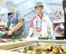 Wajib Lezat dan Bernutrisi, Makanan para Atlet Asian Games Habiskan Biaya Rp6,9 Milliar!